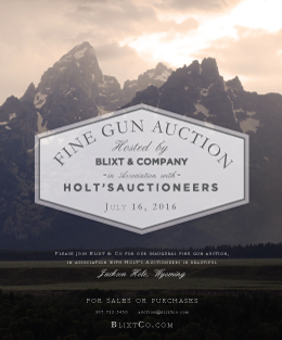 Blixt Fine Gun Auction